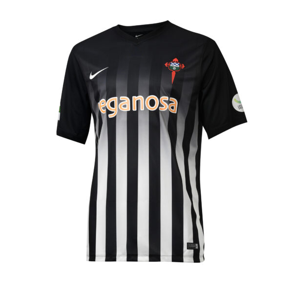 Camiseta Negra/Blanca RCF