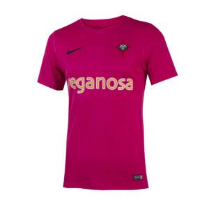 camiseta rosa delantera