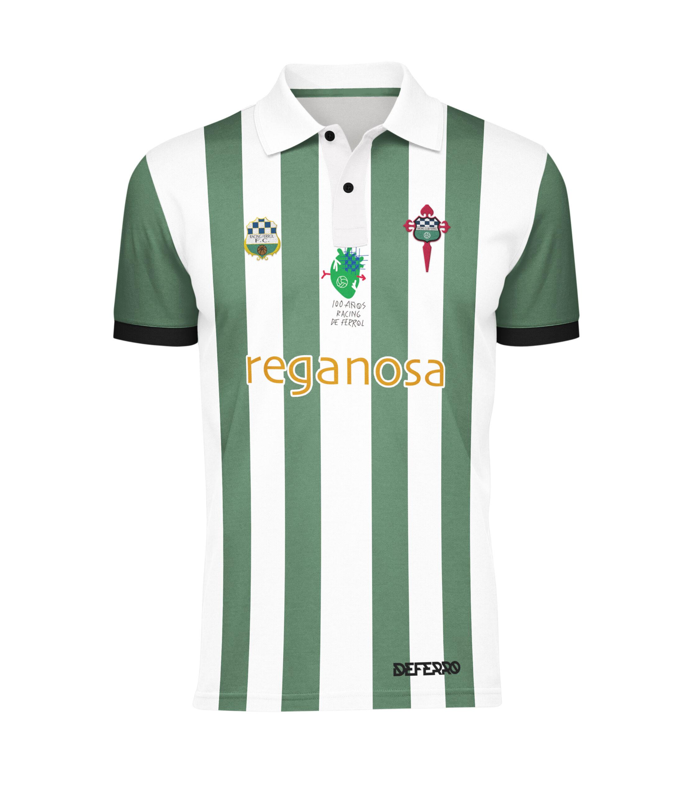 Camiseta RCF- Centenario