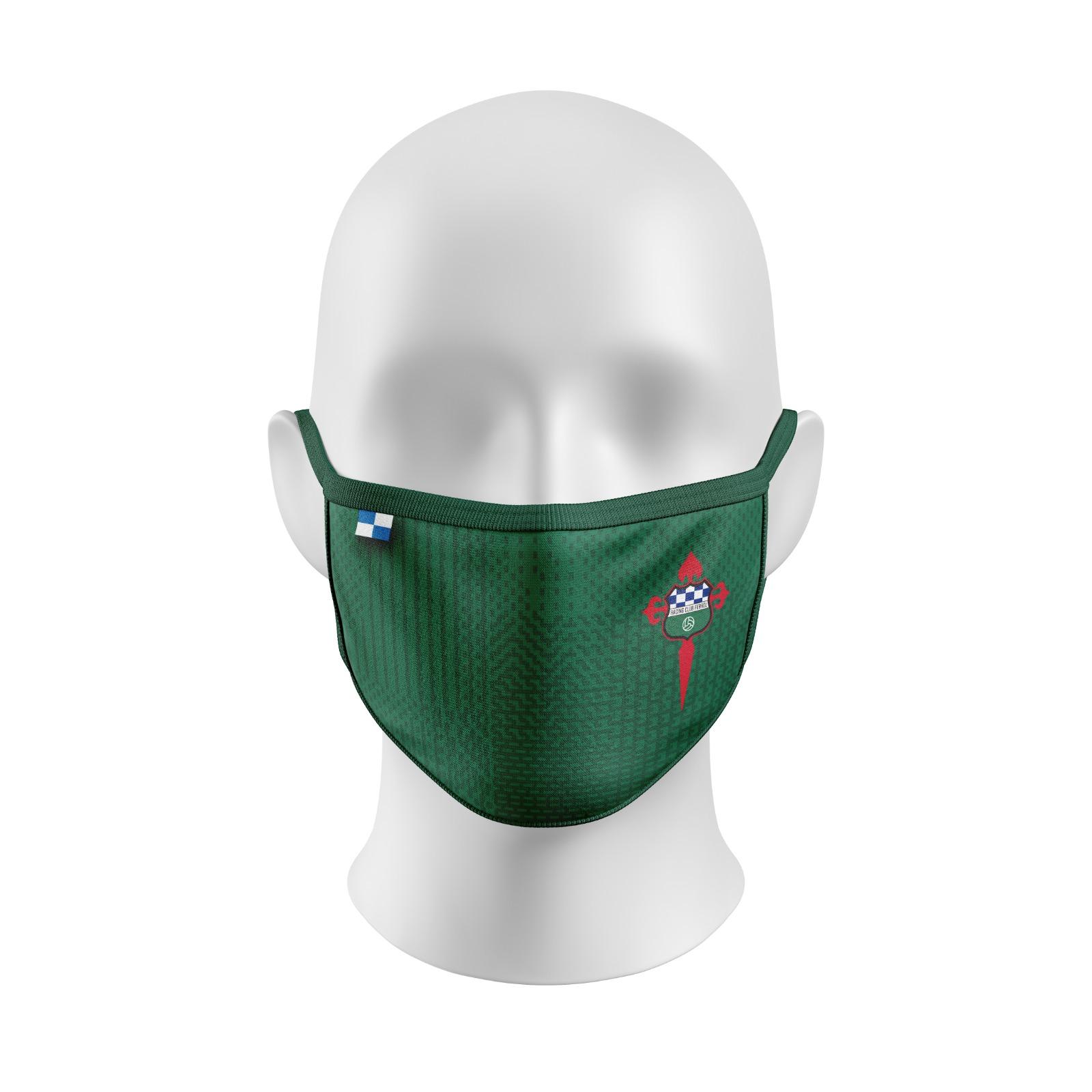 Mascarilla verde RCF